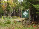 Green Certified woodlot in Old Town, Maine